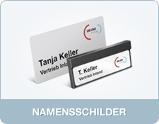Namensschilder